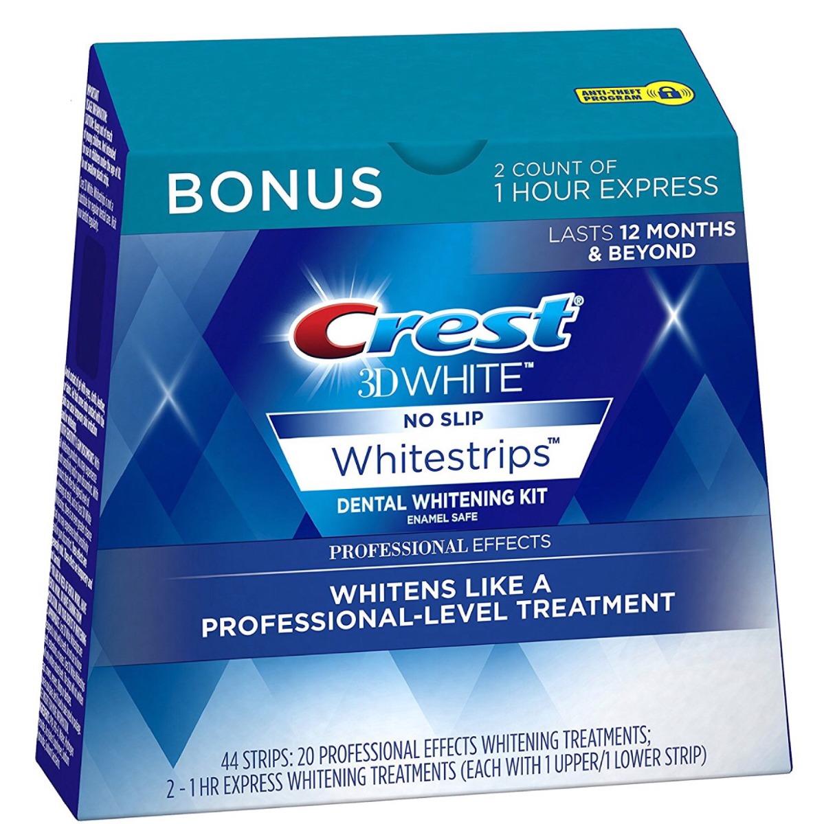 Clareador Dental Crest Importado Eua Efeitos Profissionais R 295