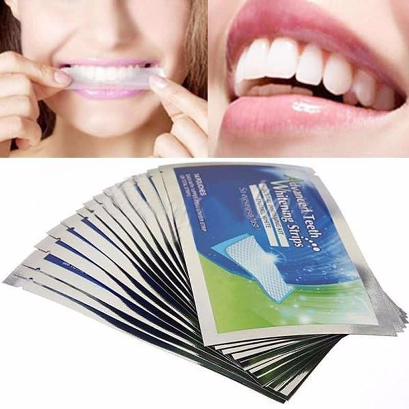 Clareador Dental Fitas Clareadoras Dente Branqueador R 59 00 Em