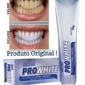 Clareador Dental Hinode Pro White 90g Kit Com 5 Un R 40 00 Em