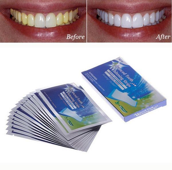 Clareador Dental Kit Fitas Branqueadora Whitestrips Dente R 45 90