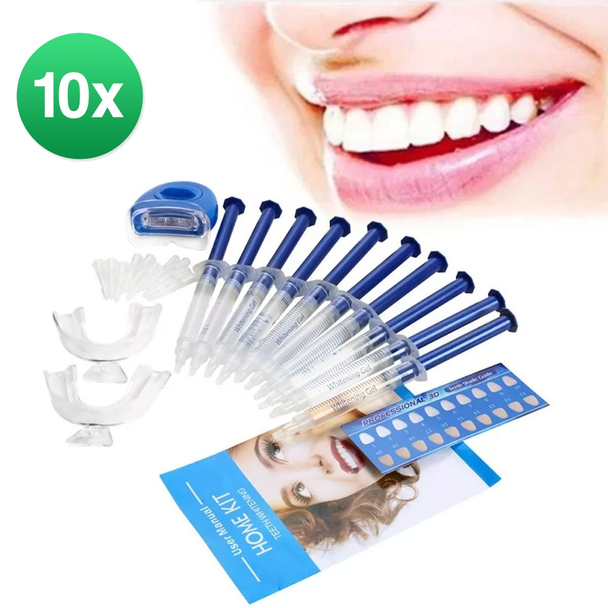 Tag Clareador Dental Whiteness Perfect 44