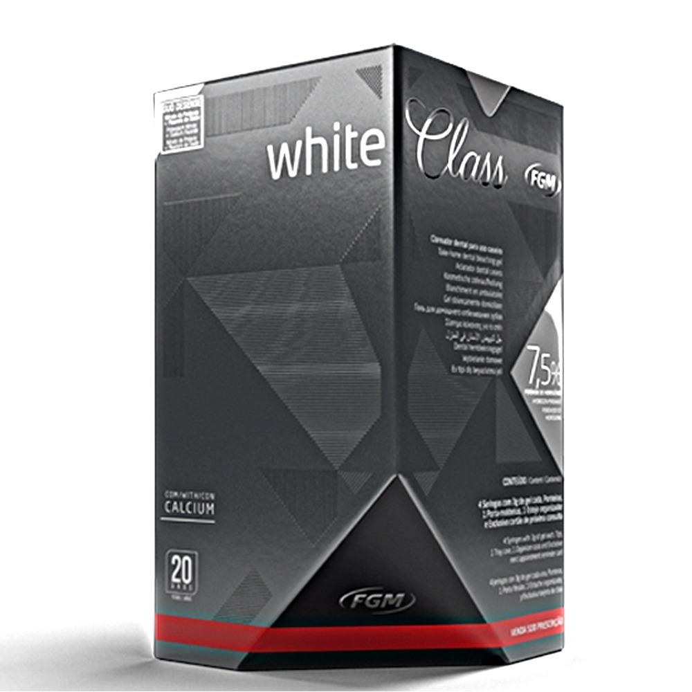 Clareador Dental Kit White Class 7 5 Fgm R 82 00 Em Mercado Livre
