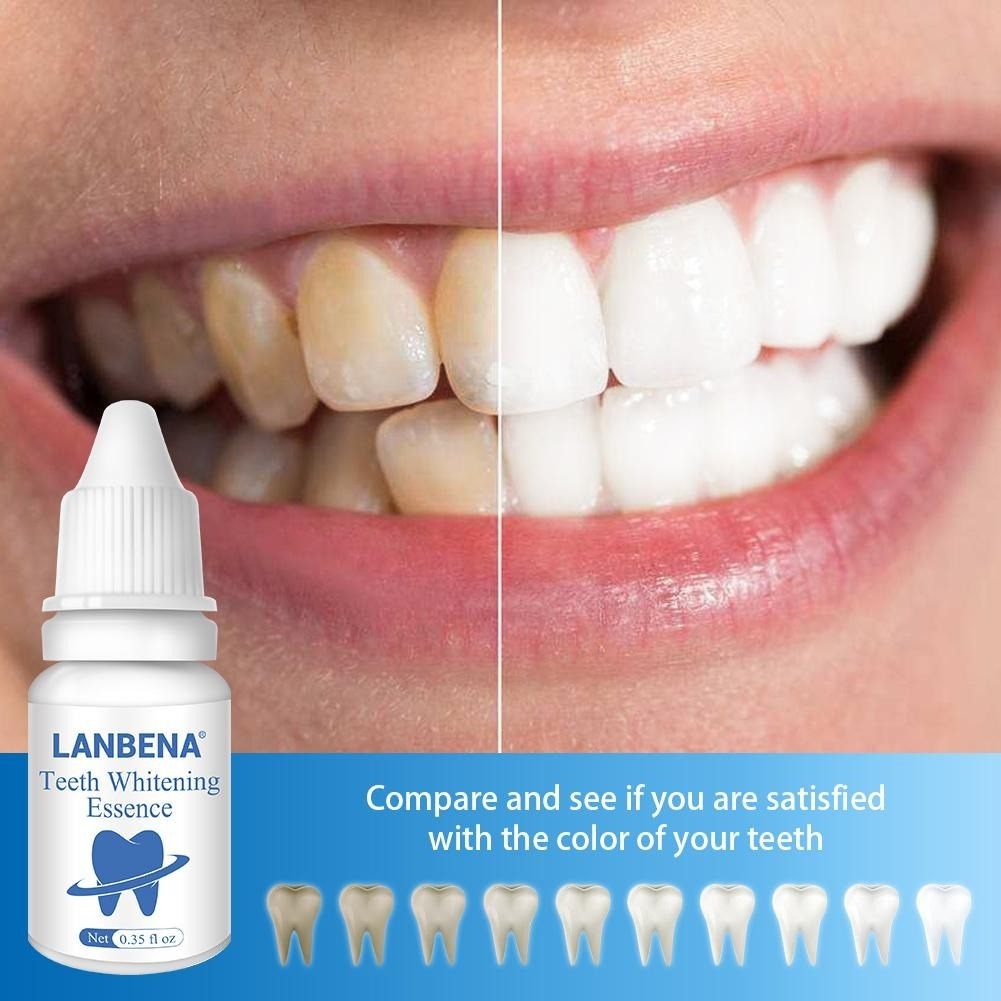 Clareador Dental Lanbena Dentes Sem Manchas E Amarelados R 49 45