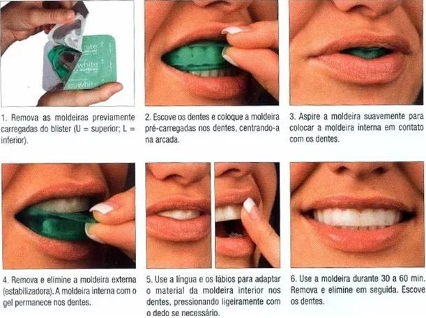 Clareador Dental Opalescence Go Treswhite Brinde R 149 00 Em