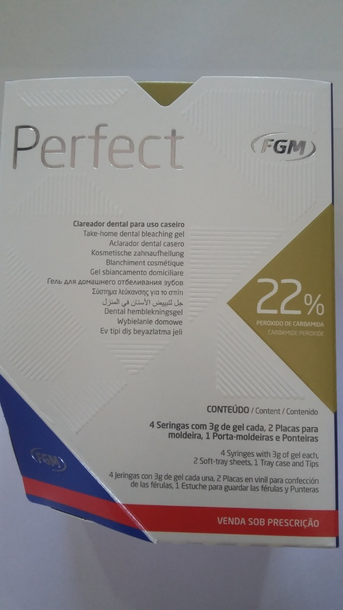 Clareador Whiteness Perfect 22 Kit Fgm R 110 00 Em Mercado Livre