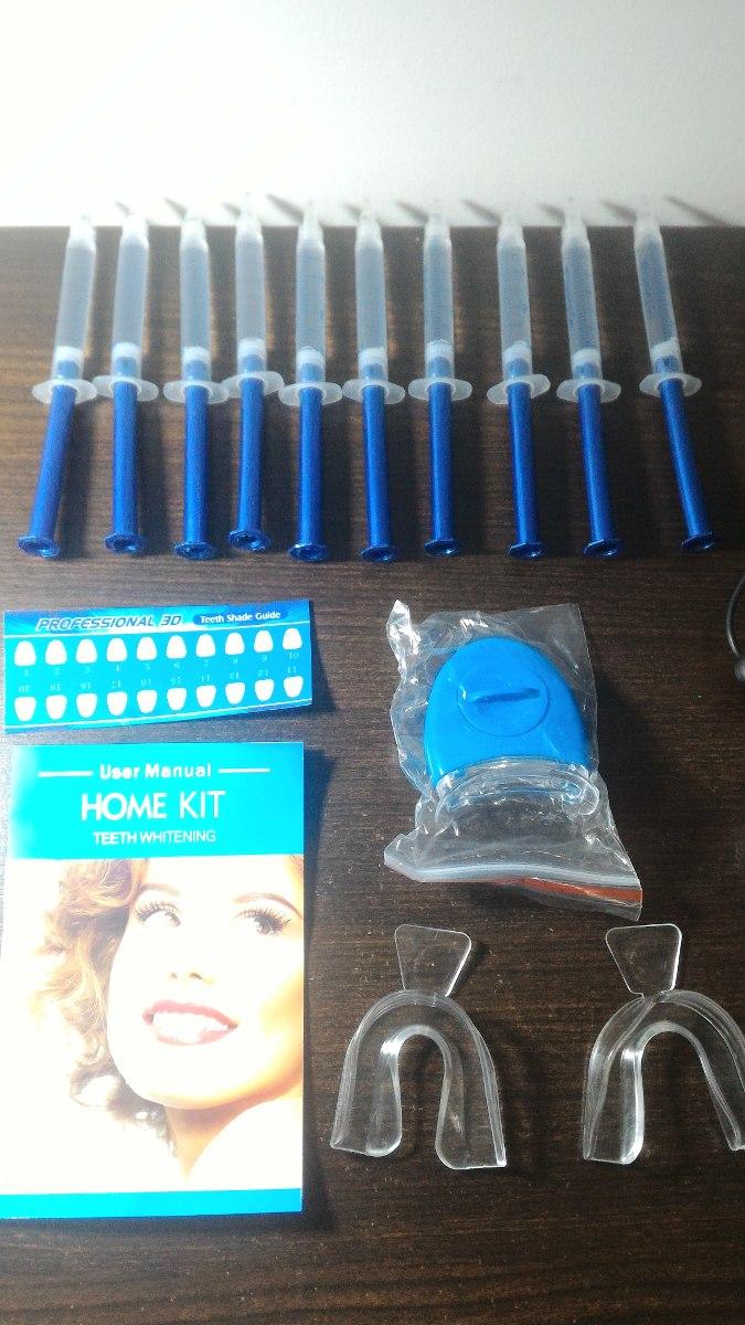 Clareamento Caseiro Gel Teeth Whitening 44 Peroxido Dental R 139