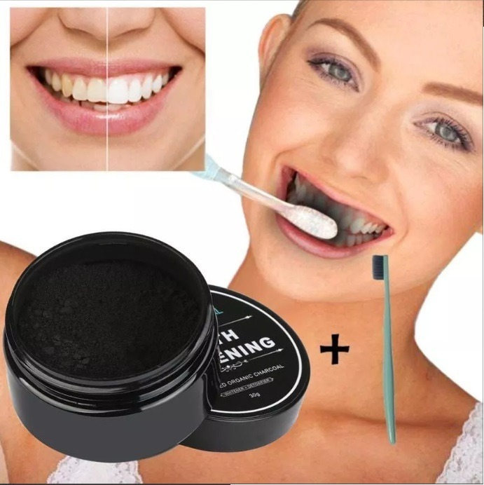 Clareamento Dental Carvao Em Po Ativado Natural O Melhor R 34