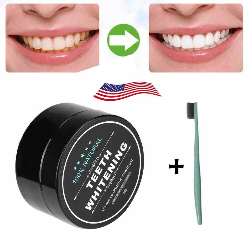 Clareamento Dental Caseiro Com Carvao Ativado Escova R 29 90 Em