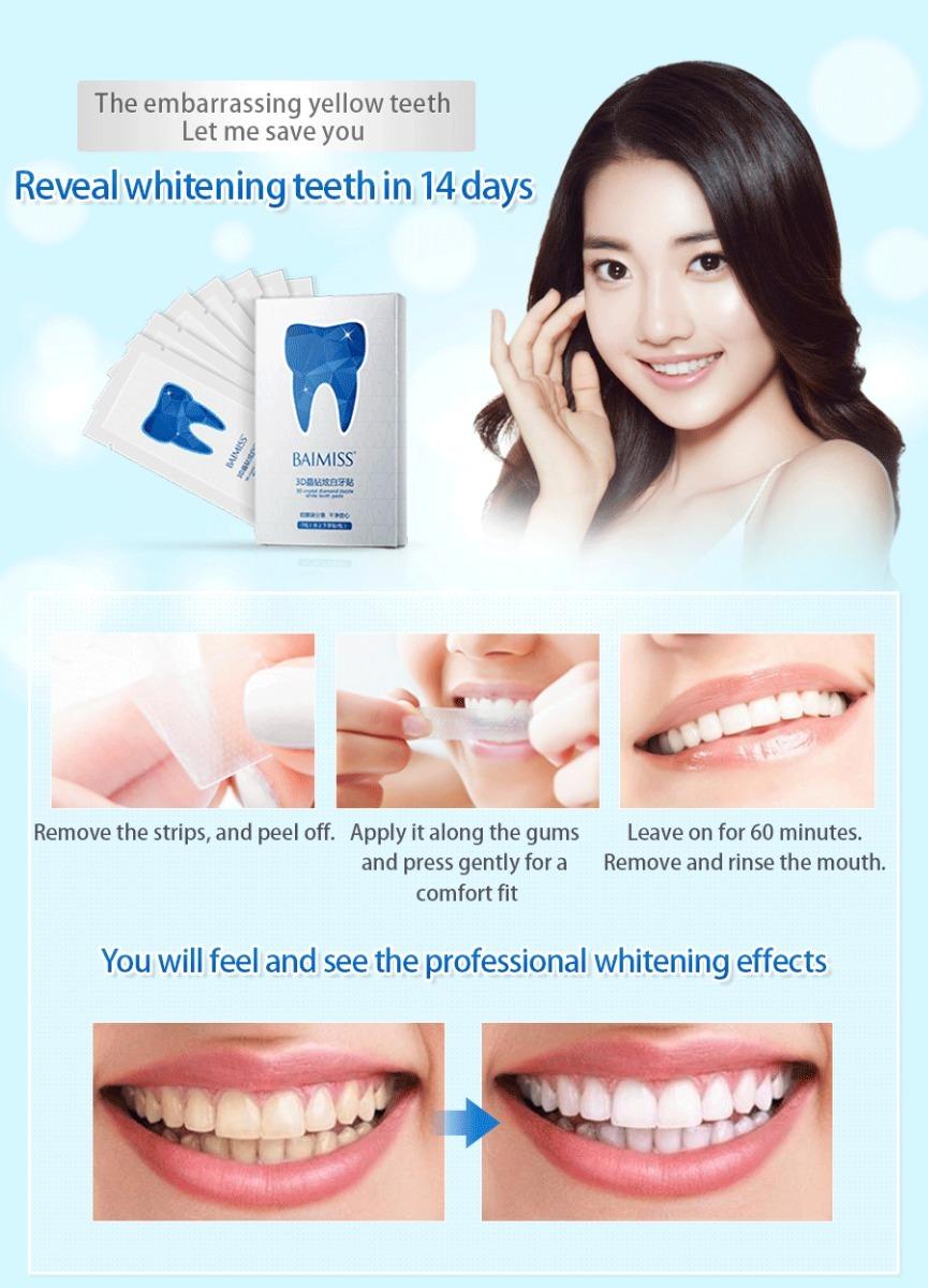 Clareamento Dental Em Fitas De Gel Adesivas 3d A Melhor R 22 00