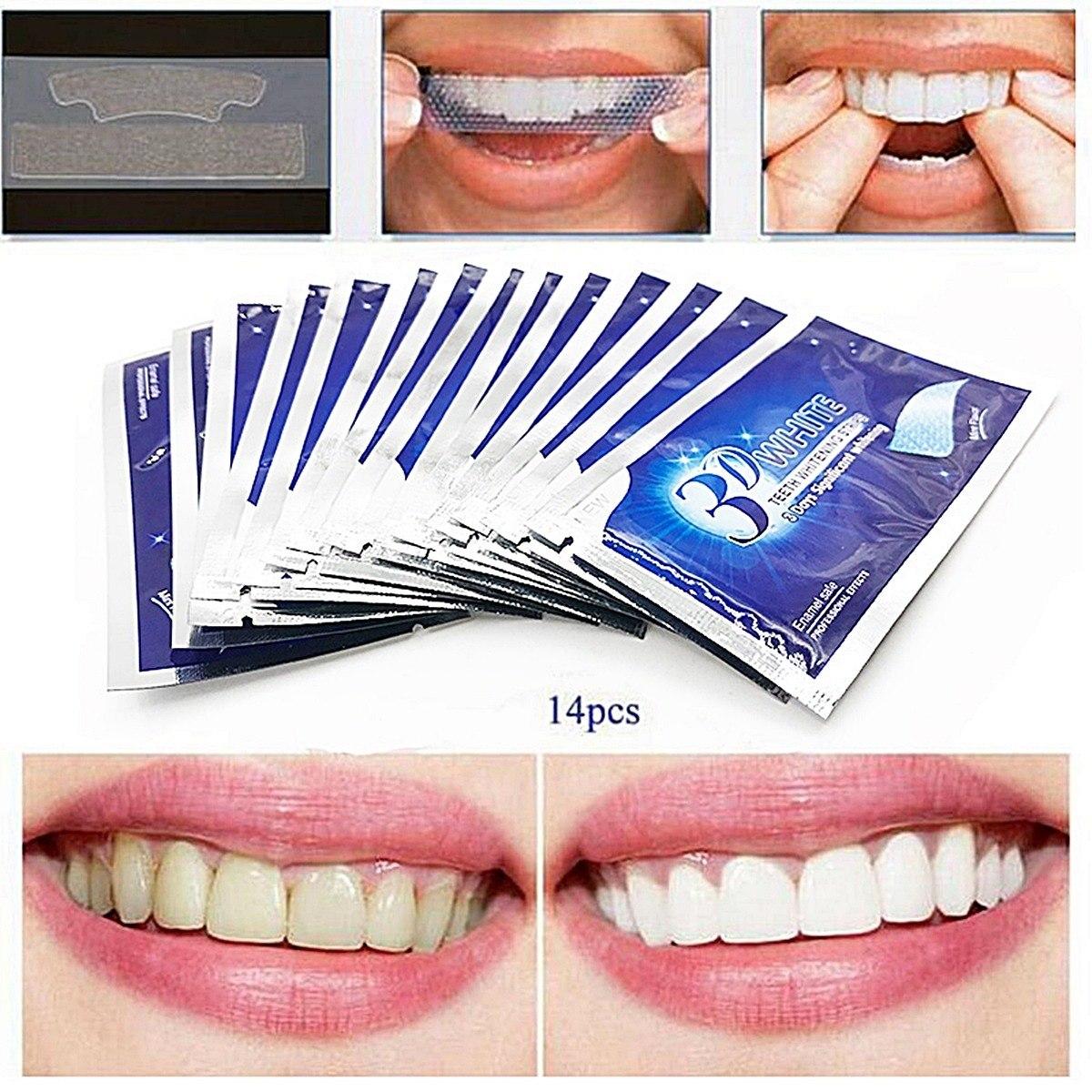 Clareamento Dental Em Fitas De Gel Adesivas Advanced Teeth R 44