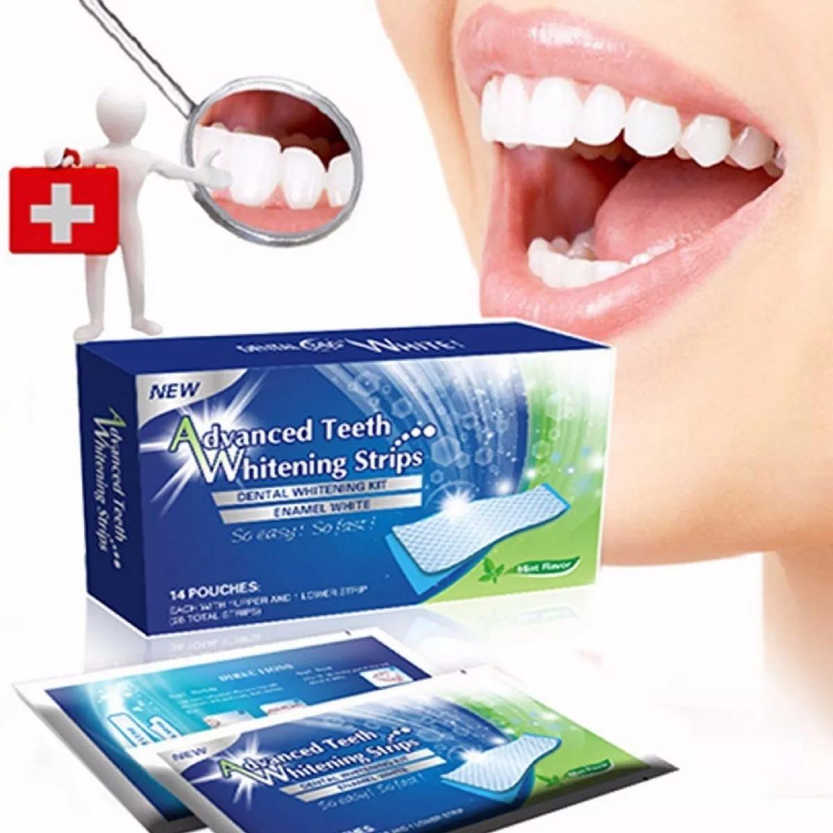 Clareamento Dental Profissional Fita De Gel Adesiva Mint R 42 90