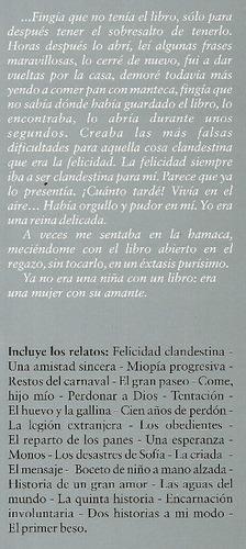 clarice lispector. felicidad clandestina.