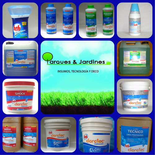 clarificador clasico clorotec x 10 litros