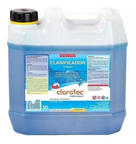 clarificador clasico mantenimiento p/ piletas clorotec 10l