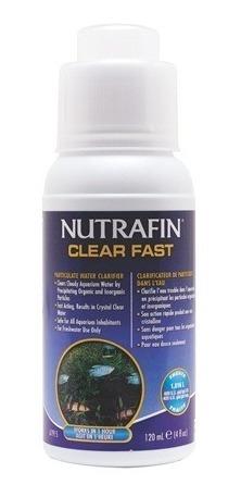 clarificador de agua - clear fast nutrafin x 120 ml