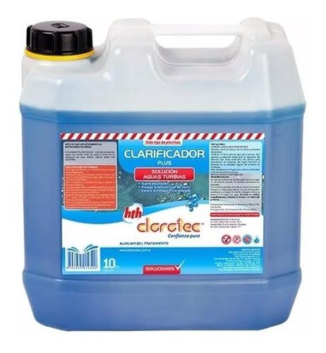 clarificador plus fuerte decantador piletas clorotec 10l