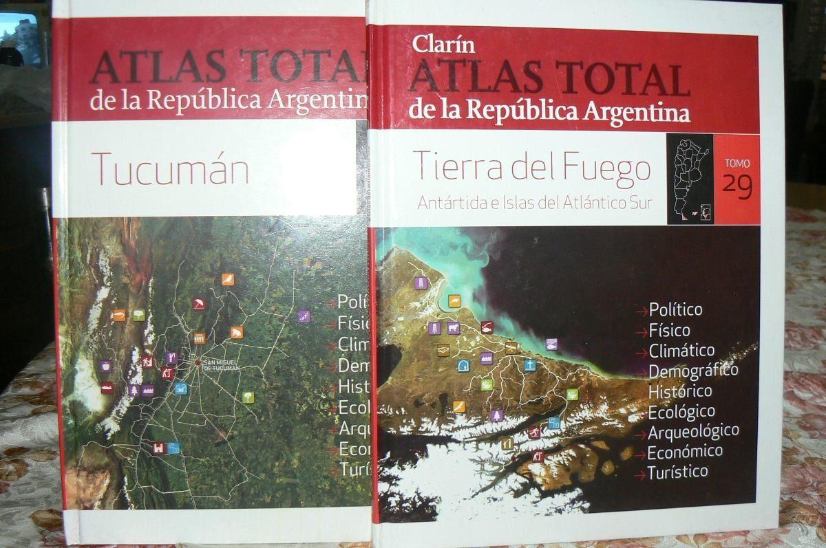 Atlas Total de la República Argentina Clarín