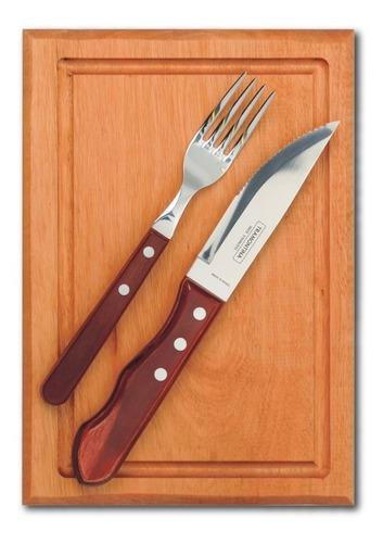 clarín colección 4 juegos de tabla + tenedor + cuchillo