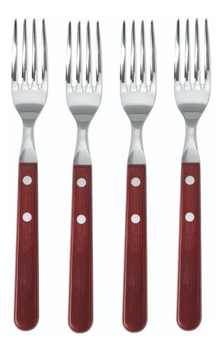 clarín colección 4 tablas + 4 tenedores