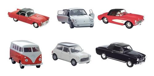 clarín colección autos clásicos set 3 de 6 autos