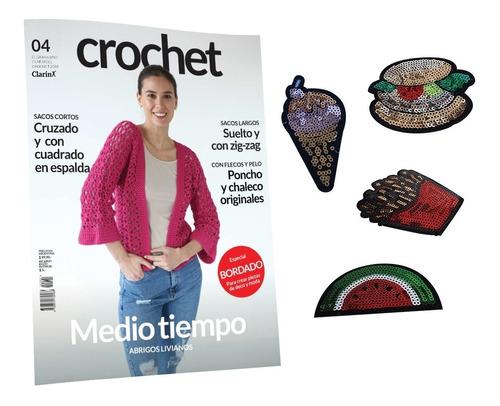 clarín colección crochet 2018 set de 6 fascículos