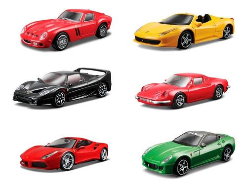 clarín colección ferrari gt set 2 de 6 autos