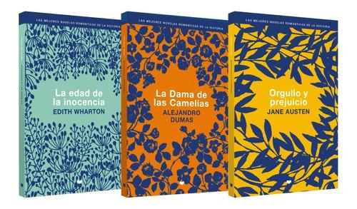 clarin colección literatura romantica set 2 de 3 libros