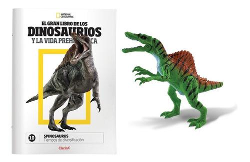 clarín colección natgeo dinosaurios set 2 de 5 fascículos