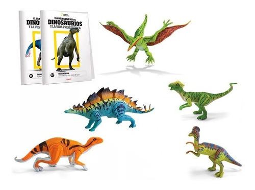 clarín colección natgeo dinosaurios set 3 de 5 fascículos
