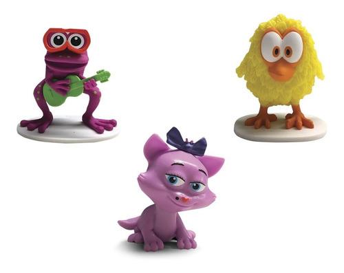 clarín colecciones granja de zenon set 2 de 7 figurines