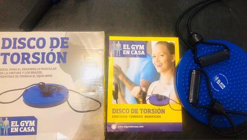 clarín gym en casa - disco de torsión - n 6 - nuevo