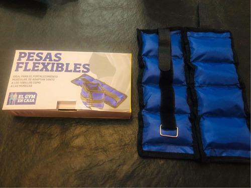 clarín gym en casa - pesas flexibles -  n 8 - nuevo