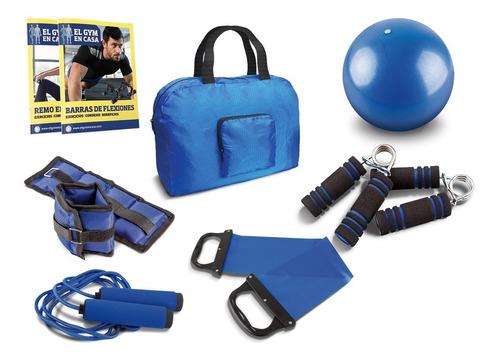 clarín gym en casa set 2 de 6 accesorios fitness
