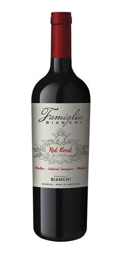 clarin promo vino famiglia bianchi + 2 copas volf para vino