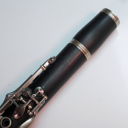 clarinete alemão schreiber & sohne, madeira, excelente!