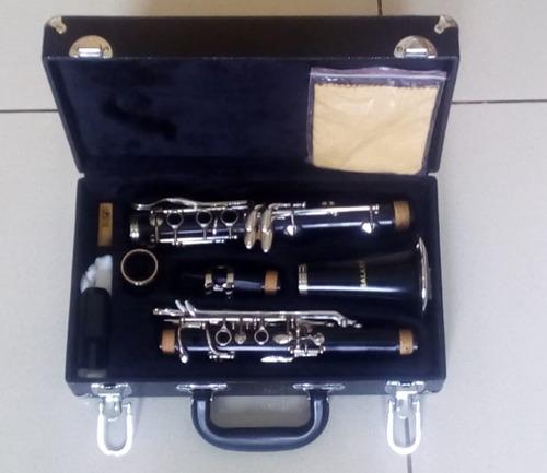 clarinete de lujo con caja manual y guantes americano eeuu