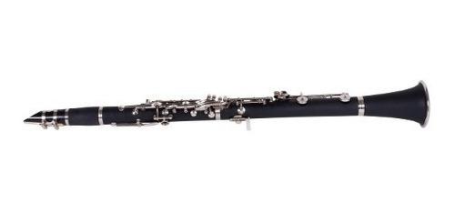 clarinete estudio parquer custom si bemol llaves plateadas