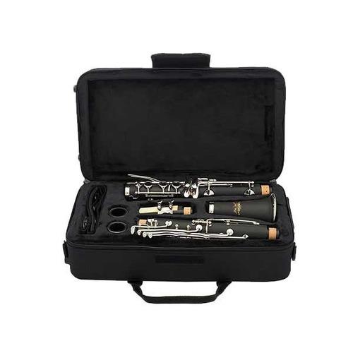 clarinete jean paul/17 llaves/nickel/estuche