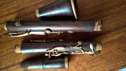 clarinete madera buffet evette para reparar