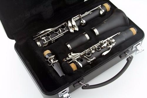 clarinete olso milan importado estuche rigido