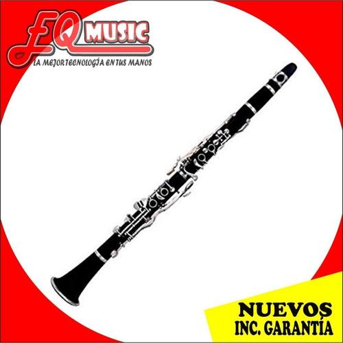 clarinete pearl river pro negro sistema boehm 17 llaves eban