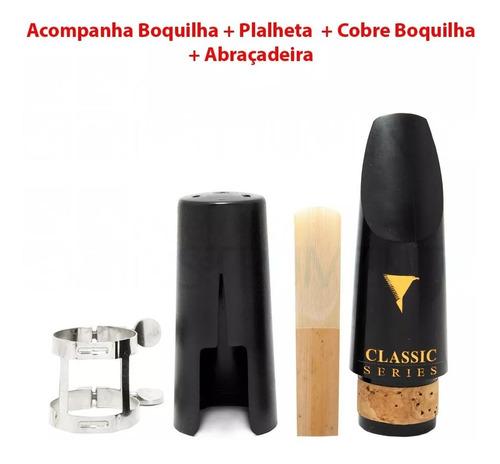 clarinete profissional eagle cl04n sib case palheta