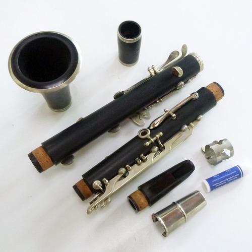 clarinete sib noblet / paris - francês de madeira