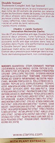 clarins concentrado de control de edad completo de suero do