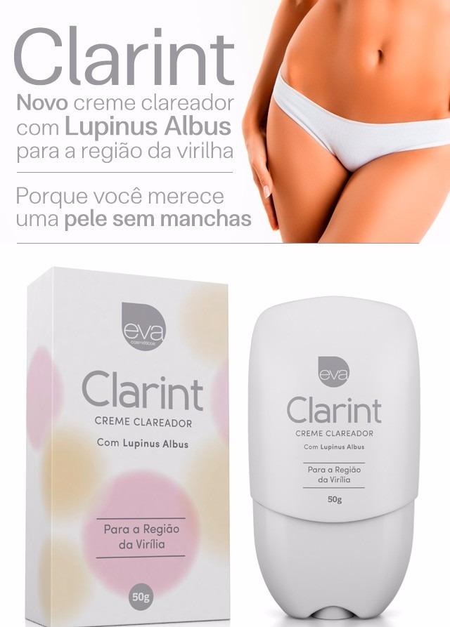 Clarint Clareador Intimo De Virilha Clareia A Regiao Intima R 54