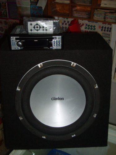 clarion, combo kit marca clarion!!! totalmente nuevo retro