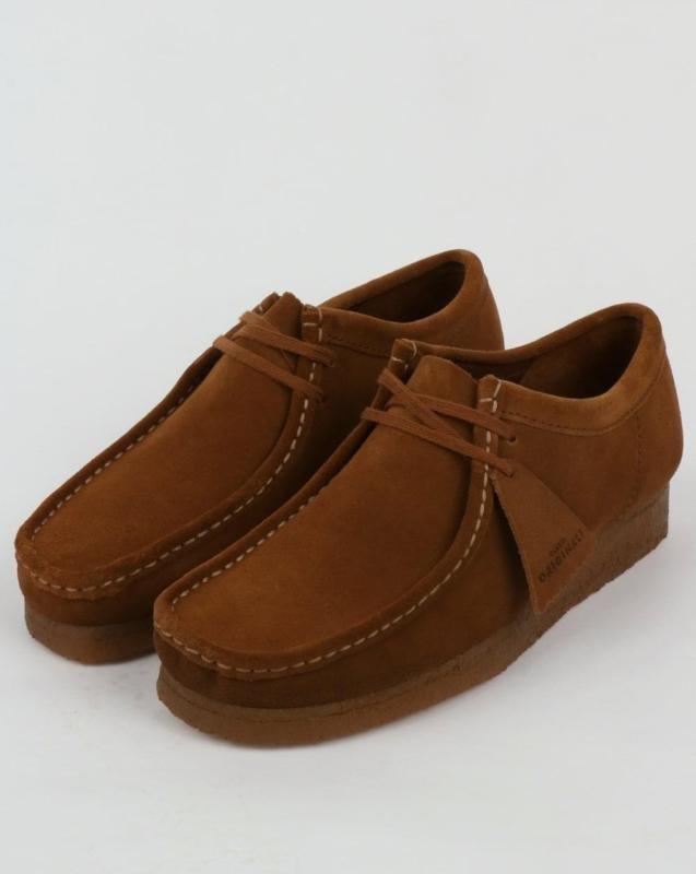 Clarks Originals Wallabee Zapatos En Gamuza De Cola