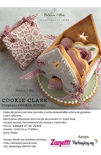 clase de decoración de galletas