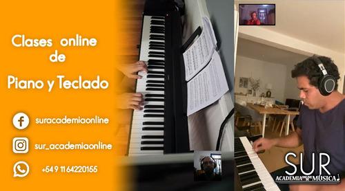 clase de piano y teclado