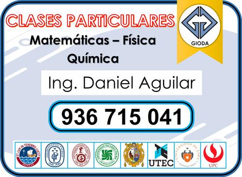 clases a domicilio matematica fisica quimica (936-715-041)